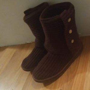 Women's Cardy Knit Ugg Boots